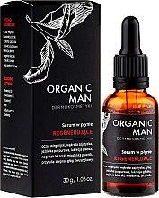 Düfte, Parfümerie und Kosmetik Regenerierendes Gesichtsserum mit Vitamin B3 und E - Organic Life Dermocosmetics Man