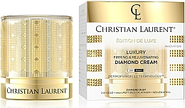 Düfte, Parfümerie und Kosmetik Luxuriöse straffende und verjüngende Gesichtscreme mit Diamantpulver - Christian Laurent Luxury Firming&Rejuvenating Diamond Cream