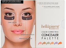 Düfte, Parfümerie und Kosmetik Konturier-Palette - Bellapierre Cosmetics Color Correcting Concealer Palette