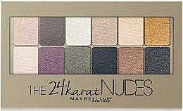 Düfte, Parfümerie und Kosmetik Lidschattenpalette - Maybelline The 24 Karat Nudes