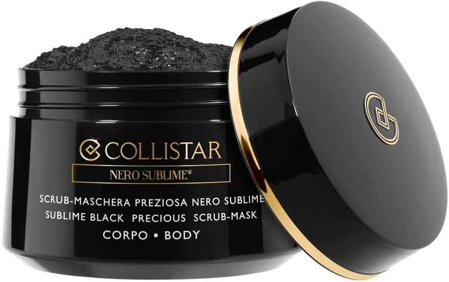 Peelingmaske für den Körper mit Detox-Effekt - Collistar Sublime Black Precious Scrub-Mask Body — Bild N1