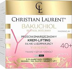 Düfte, Parfümerie und Kosmetik Intensiv straffende Anti-Falten Lifting-Creme für Gesicht, Hals und Dekolleté 40+ - Christian Laurent Bakuchiol Retinol Lifting Cream