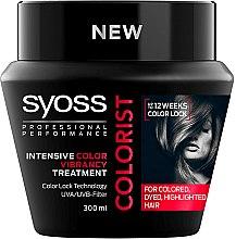 Düfte, Parfümerie und Kosmetik Haarmaske für gefärbtes Haar mit UVA/UVB-Filter - Syoss Colorist Treatment