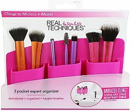 Düfte, Parfümerie und Kosmetik Make-up Pinsel-Organizer rosa - Real Techniques 3 Pocket Expert Organizer Pink
