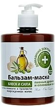 Düfte, Parfümerie und Kosmetik Stärkende Haarspülung-Maske für mehr Glanz mit Bierhefe und Olivenöl - Hausarzt