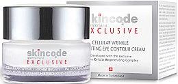 Düfte, Parfümerie und Kosmetik Regenerierende Anti-Falten Augenkonturcreme - Skincode Exclusive Cellular Wrinkle Prohibiting Eye Contour Cream