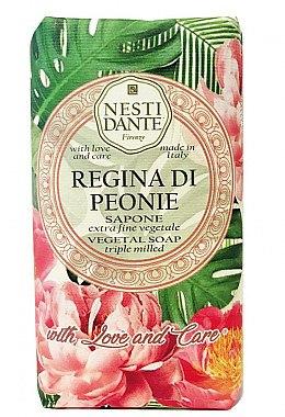 Naturseife Regina di Peonie - Nesti Dante Vegetable Soap Love and Care Collection — Bild N1