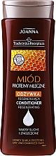 Düfte, Parfümerie und Kosmetik Haarspülung für trockenes und strapaziertes Haar - Joanna Yeast Honey & Milk Proteins Conditioner