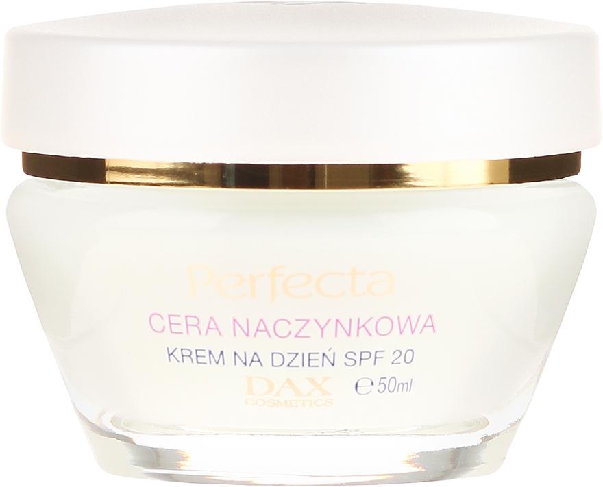 Tagescreme gegen Rötungen mit LSF 20 - Perfecta Cera Naczynkowa SPF 20 Cream — Bild N2