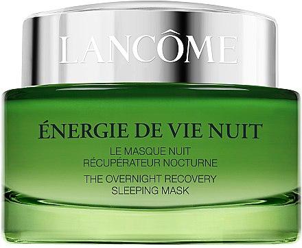 Regenerierende und feuchtigkeitsspendende Gesichtsmaske für die Nacht - Lancome Energie De Vie The Overnight Recovery Sleeping Mask — Bild N2