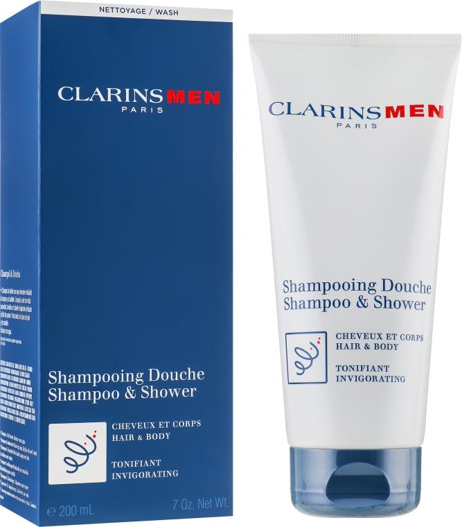 Erfrischendes Haar- und Körpershampoo - Clarins Men Shampoo & Shower — Bild N1