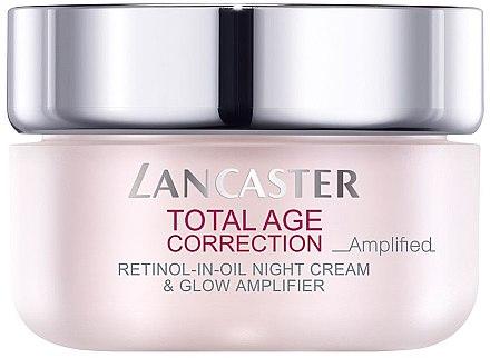 Anti-Aging Nachtcreme - Lancaster Total Age Correction Amplified Retinol -In-Oil Night Cream — Bild N1
