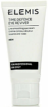 Düfte, Parfümerie und Kosmetik Feuchtigkeitsspendende Anti-Aging Augenkonturcreme - Elemis Men Time Defence Eye Reviver For Professional Use Only
