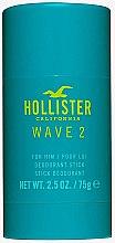 Düfte, Parfümerie und Kosmetik Hollister Wave 2 For Him - Parfümierter Deostick