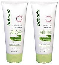 Düfte, Parfümerie und Kosmetik Handcreme mit Aloe Vera 2 St. - Babaria Aloe Vera