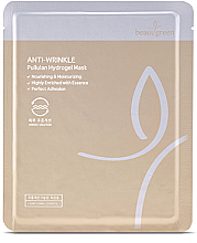 Düfte, Parfümerie und Kosmetik Pflegende Anti-Falten Gesichtsmaske - Beauugreen Pullulan Hydrogel Mask