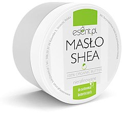 Düfte, Parfümerie und Kosmetik 100% unraffinierte Sheabutter für Körper - Esent