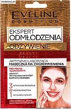 Düfte, Parfümerie und Kosmetik 3in1 Beruhigende Aktivmaske für Gesicht, Hals und Dekolletée gegen Hautrötungen - Eveline Cosmetics Expert Nutrition Actively Soothing Face Mask for Redness