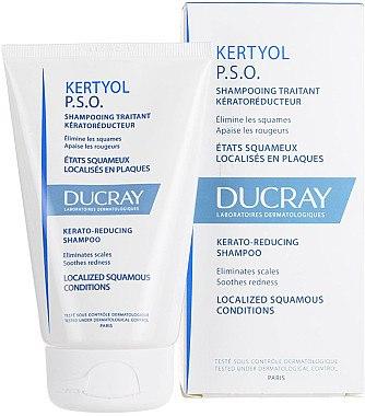 Nährendes Shampoo für trockenes Haar - Ducray Kertyol P.S.O. Kerato-Reducing Shampoo — Bild N1