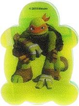Düfte, Parfümerie und Kosmetik Kinderbadeschwamm Die Ninja Turtles Michelangelo 2 - Suavipiel Turtles Bath Sponge