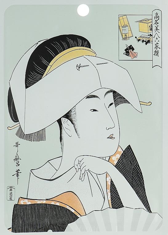 Tuchmaske für das Gesicht mit Hyaluronsäure und Lithospermum - Mitomo Essence Sheet Mask Hyaluronic + Lithospermum