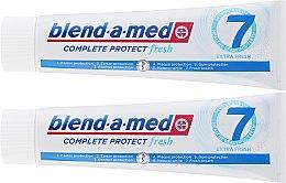 Zahnpasta Complete Protect Fresh 7 Extra Fresh 2 St. - Blend-a-med Complete 7 Extra Fresh (Zahnpasta 2x100ml) — Bild N2