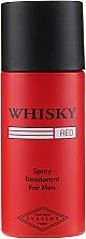 Düfte, Parfümerie und Kosmetik Evaflor Whisky Red For Men - Deospray