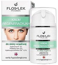 Düfte, Parfümerie und Kosmetik Regenerierende Gesichtscreme für empfindliche Haut - Floslek Face Cream