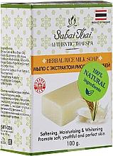 Düfte, Parfümerie und Kosmetik Seife mit Reiskeimextrakt - Sabai Thai Herbal Rice Milk Soap