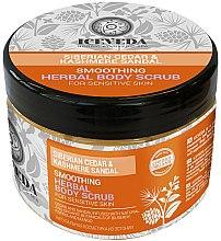 Düfte, Parfümerie und Kosmetik Glättendes Körperpeeling - Natura Siberica Iceveda Siberian Cedar&Cashmere Sandal Smoothing Herbal Body Scrub