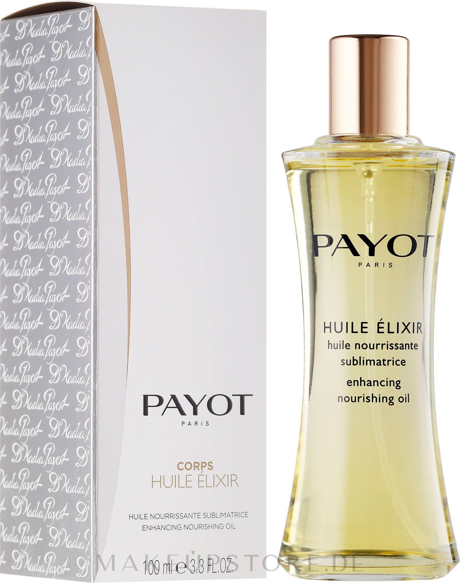Nährendes Trockenöl für Gesicht, Körper und Haare - Payot Enhancing Nourishing Oil — Bild 100 ml