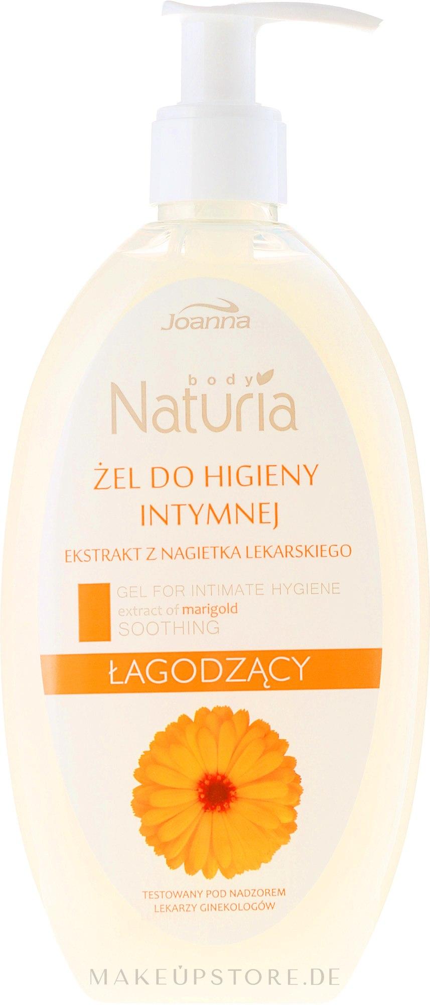 Gel für die Intimhygiene mit Ringelblumenextrakt - Joanna Naturia Intimate Hygiene Gel — Bild 240 ml