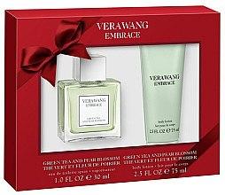 Düfte, Parfümerie und Kosmetik Vera Wang Embrace Green Tea & Pear Blossom Gift Set - Duftset (Eau de Toilette/30ml + Körperlotion/75ml)