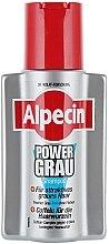 Düfte, Parfümerie und Kosmetik Farbauffrischendes Shampoo für blondes und graues Haar - Alpecin Power Grau Shampoo