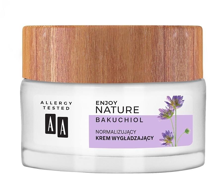 Normalisierende und glättende Gesichtscreme - AA Enjoy Nature Bakuchiol Normalising Smoothing Day&Night Cream — Bild N2