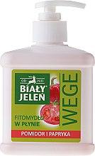 Düfte, Parfümerie und Kosmetik Flüssigseife mit Tomate und Paprika - Bialy Jelen Wege