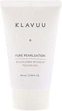 Düfte, Parfümerie und Kosmetik Glättendes und tonisierendes Gesichtspeeling mit Perlenextrakt - Klavuu Pure Pearlsation Revitalizing Intensive Peeling Gel