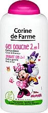 Düfte, Parfümerie und Kosmetik 2in1 Extra mildes Duschgel für Körper und Haar Minnie and Daisy - Corine de Farme Disney