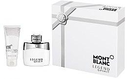 Düfte, Parfümerie und Kosmetik Montblanc Legend Spirit - Duftset (Eau de Toilette 50ml + Duschgel 100ml)