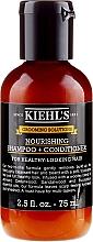 Düfte, Parfümerie und Kosmetik 2in1 Nährendes Shampoo und Haarspülung - Kiehl`s Grooming Solutions Nourishing Shampoo + Conditioner