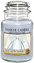 """Düfte, Parfümerie und Kosmetik Duftkerze im Glas """"Blue Satin Sashes"""" - Yankee Candle Blue Satin Sashes"""