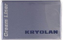 Düfte, Parfümerie und Kosmetik Wasserdichter Eyeliner - Kryolan HD Cream Liner