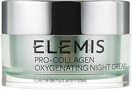 Düfte, Parfümerie und Kosmetik Glättende, erneuernde und feuchtigkeitsspendende Anti-Falten Nachtcreme mit Trichteralgen - Elemis Pro-Collagen Oxygenating Night Cream