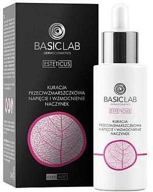 Gesichtsserum zur Stärkung der Kapillaren mit Ascorbylglucosid und Ginkgo-Biloba-Extrakt - BasicLab Dermocosmetics Esteticus — Bild N1
