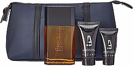 Azzaro Pour Homme - Duftset (Eau de Toilette 100ml + Duschgel 50ml + After Shave Balsam 30ml + Kosmetiktasche) — Bild N2