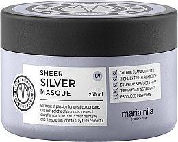 Düfte, Parfümerie und Kosmetik Haarkur für silbernes Blond und kühle Farbtöne - Maria Nila Sheer Silver Masque