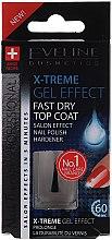 Düfte, Parfümerie und Kosmetik Schnelltrocknender Nagelüberlack mit Gel-Effekt - Eveline Cosmetics Nail Therapy Professional