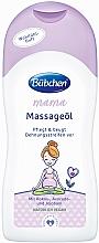 Düfte, Parfümerie und Kosmetik Pflegendes Massageöl für Schwangere gegen Dehnungsstreifen - Bubchen Mama Massage Oil