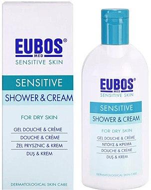 Duschcreme für trockene Haut - Eubos Med Sensitive Skin Shower & Cream For Dry Skin — Bild N2