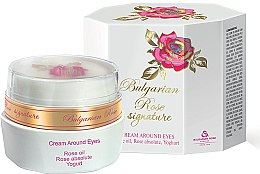 Düfte, Parfümerie und Kosmetik Augencreme - Bulgarian Rose Signature Cream Around Eyes